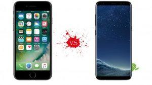 iPhone 8 vs Glaxy s8 Karşılaştırma