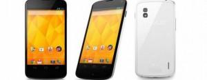 Beyaz Nexus 4'te ilk sorun!