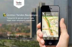 Yandex'den Navigasyon Golu